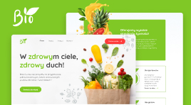 Warsztaty tworzenia stron - Bio Food